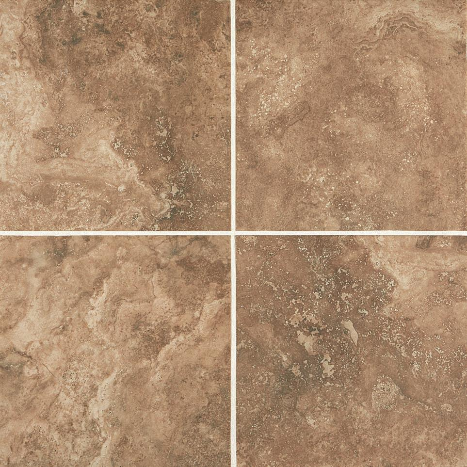 Esta Villa Wall Field Tile by Floorcraft - Cottage Brown Plain