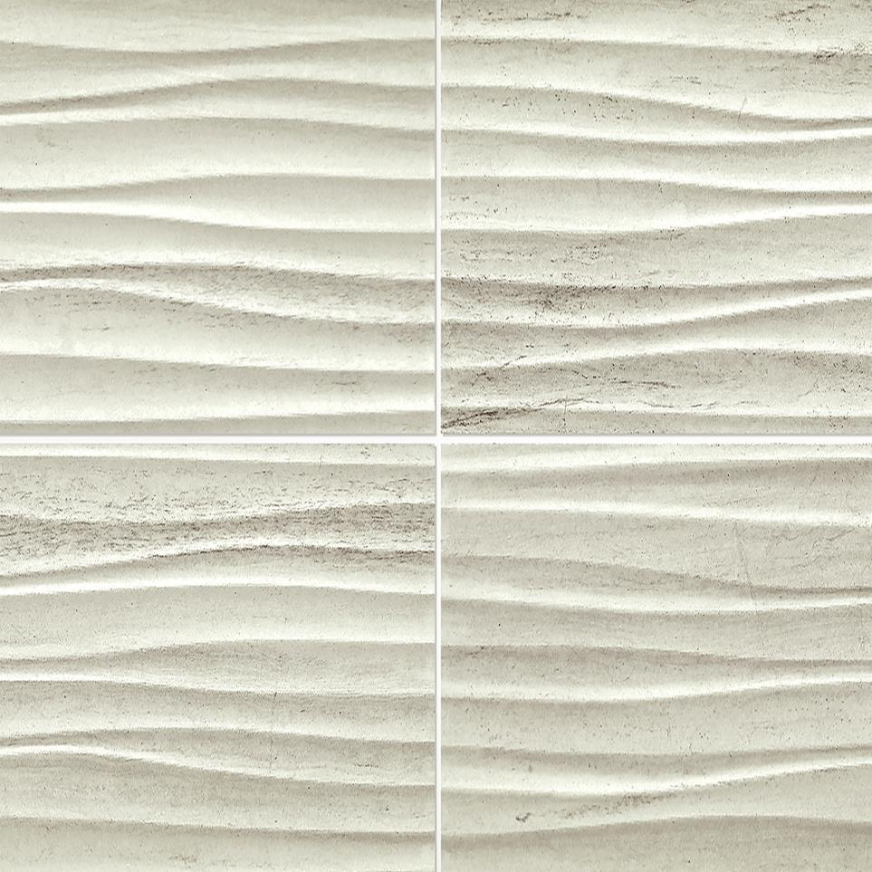 Articulo Floor Tile by Floorcraft - Editorial White
